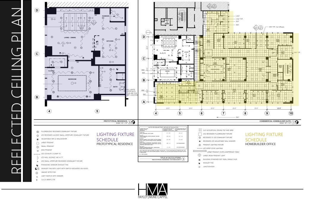 Rcp Electrical Plan Hayley Appel Portfolio